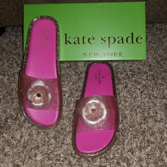 kate spade Shoes - Kate Spade Glitter Slides
